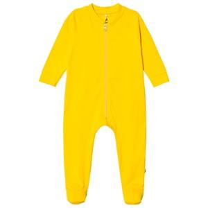 A Happy Brand Footed Baby Body Yellow 50/56 cm
