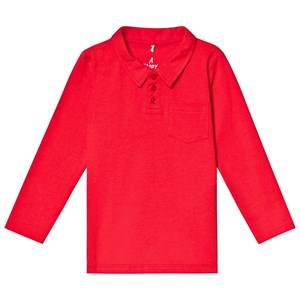 A Happy Brand Polo Shirt Red 86/92 cm