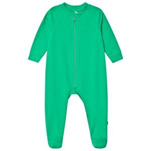 A Happy Brand Footed Baby Body Green 50/56 cm