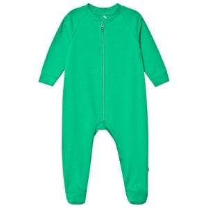 A Happy Brand Footed Baby Body Green 62/68 cm
