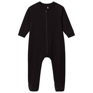 A Happy Brand Footed Baby Body Black 50/56 cm