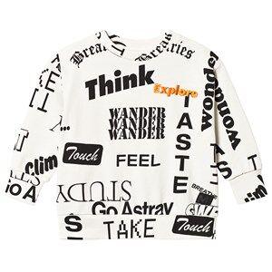 Image of Molo Madsim Sweatshirt Words 176 cm (16-18 years)