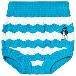 Bobo Choses Pauls Knitted Bloomers Ashley Blue 12-18 Months