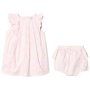 Image of Absorba Pink Floral Embroidered Dress 24 months