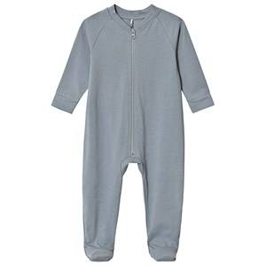 A Happy Brand Footed Baby Body Grey 62/68 cm