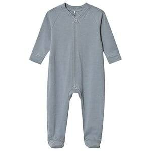 A Happy Brand Footed Baby Body Grey 74/80 cm