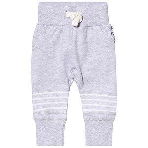 Geggamoja Classic Sweatpants Light Grey Solid 98/104 cm