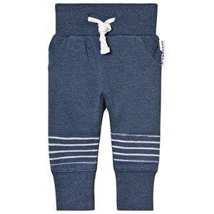Geggamoja Classic Sweatpants Marin Blue Solid 74/80 cm