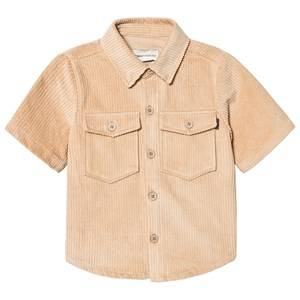 Unauthorized Kyan Shirt Sesame Brown 10y/140cm