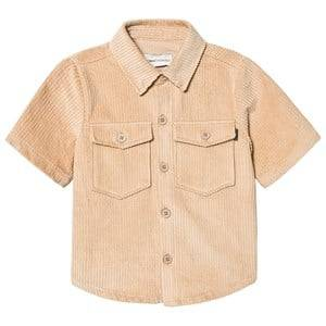 Unauthorized Kyan Shirt Sesame Brown 6y/116cm