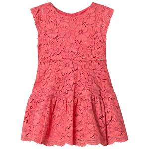 Mayoral Coral Lace Dress 2 years