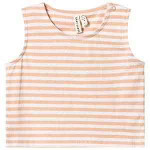 Image of Gray Label Cropped Tank Top Pop/White Stripe 2-3 Years