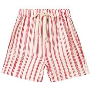 Creative Little Creative Factory Bamboo Baby Shorts Red Stripe 6 months