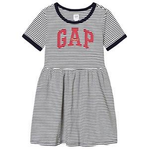Image of GAP Arch Dress Navy Stripe XS (4-5 Years)