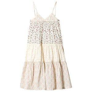 Bonton Flounce Dress Fleurs Toucan 6 Years