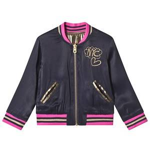 Little Marc Jacobs Reversible Bomber Jacket Navy/Gold 4 years