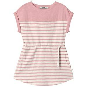 ebbe Kids Vita Tee Dress Offwhite/Blush Pink 110 cm (4-5 Years)