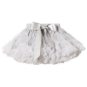 Image of DOLLY by Le Petit Tom Grace Kelly Pettiskirt Silver Grey Medium (6-8 Years)