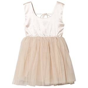 DOLLY by Le Petit Tom Signature Ballet Dress Coffee Petite (1-3 Years)