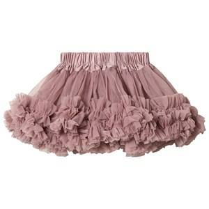 DOLLY by Le Petit Tom Frilly Skirt Mauve Medium (6-8 Years)