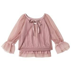 DOLLY by Le Petit Tom Fairy Top Mauve Small (3-6 Years)