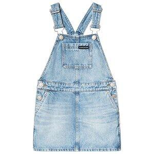 Image of Calvin Klein Jeans Blue Light Wash Denim Overalls 4 years