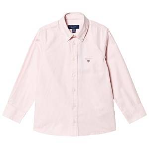 Image of GANT Branded Oxford Shirt Pink 122-128cm (7-8 years)