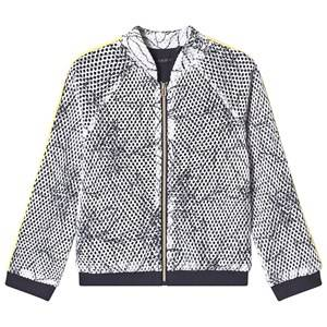 IKKS Leaf Outline Jacket White 5 years