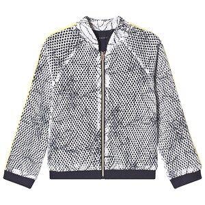 IKKS Leaf Outline Jacket White 8 years