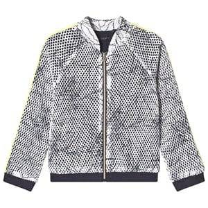 IKKS Leaf Outline Jacket White 6 years