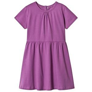 A Happy Brand Short Sleeve Dress Purple 86/92 cm