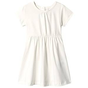 A Happy Brand Short Sleeve Dress White 98/104 cm