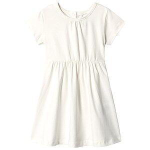 A Happy Brand Short Sleeve Dress White 86/92 cm