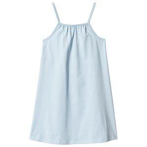 A Happy Brand Gathered Dress Blue 110/116 cm