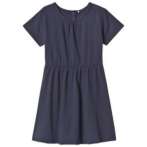 A Happy Brand Short Sleeve Dress Navy 98/104 cm