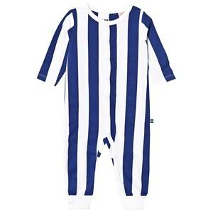 The BRAND Baby One-Piece Blue Stripe Pyjamas