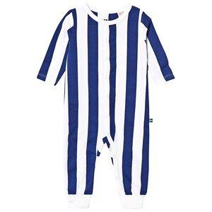 The BRAND Baby One-Piece Blue Stripe Pyjamas