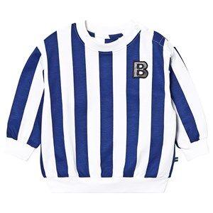 The BRAND Sweater Blue Stripe 116/122 cm