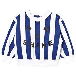 The BRAND Crop Sweater Blue Stripe 104/110 cm