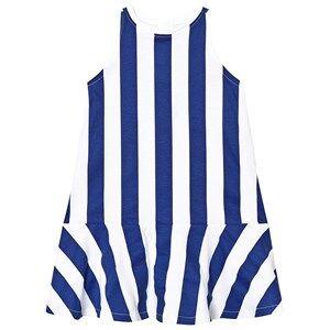 The BRAND BEACH DRESS BLUE STRIPE 80/86 cm