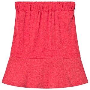 The BRAND MAXI SKIRT RED MELANGE 128/134 cm