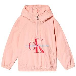Image of Calvin Klein Jeans Pale Pink Calvin Klein Packable Anorak with Bumbag 10 years