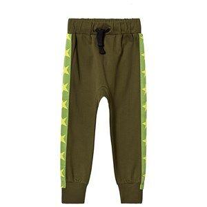Tao&friends; Stars Sweatpants Dark Green 116/122 cm