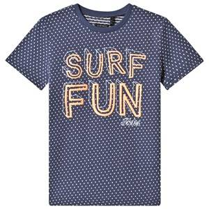 "IKKS Blue """"Surf Fun"""" Tee 6 years"