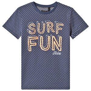 "IKKS Blue """"Surf Fun"""" Tee 8 years"