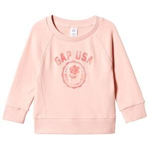 GAP Gap Usa Sweater Candlestick Coral 3 Years