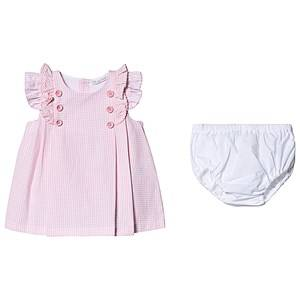 Image of Dr Kid Pink Gingham Dress with Bloomers 6 months