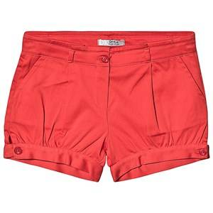 Dr Kid Red Cotton Shorts 4 years
