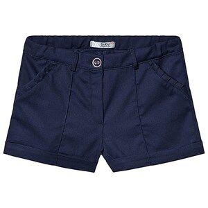 Dr Kid Navy Cotton Ruffle Pocket Shorts 3 years