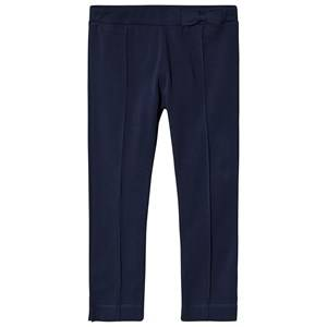 Image of Dr Kid Navy Bow Waistband Leggings 6 months